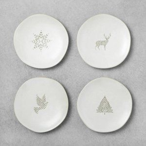 Hearth and Hand Magnolia Appetizer Plates Motifs